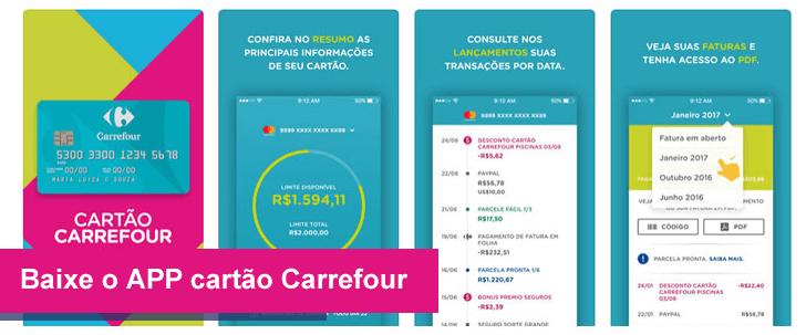 aplicativo cartão carrefour