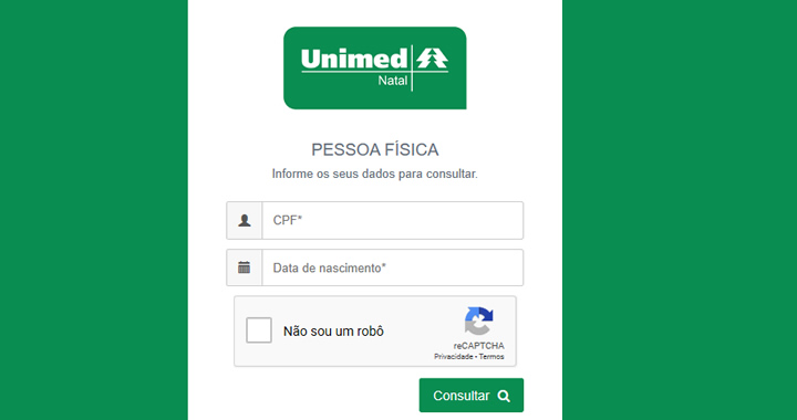 2 Via Boleto Unimed Natal - RN