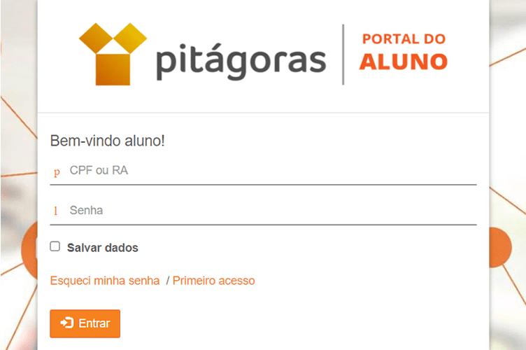 Portal do Aluno Pitágoras